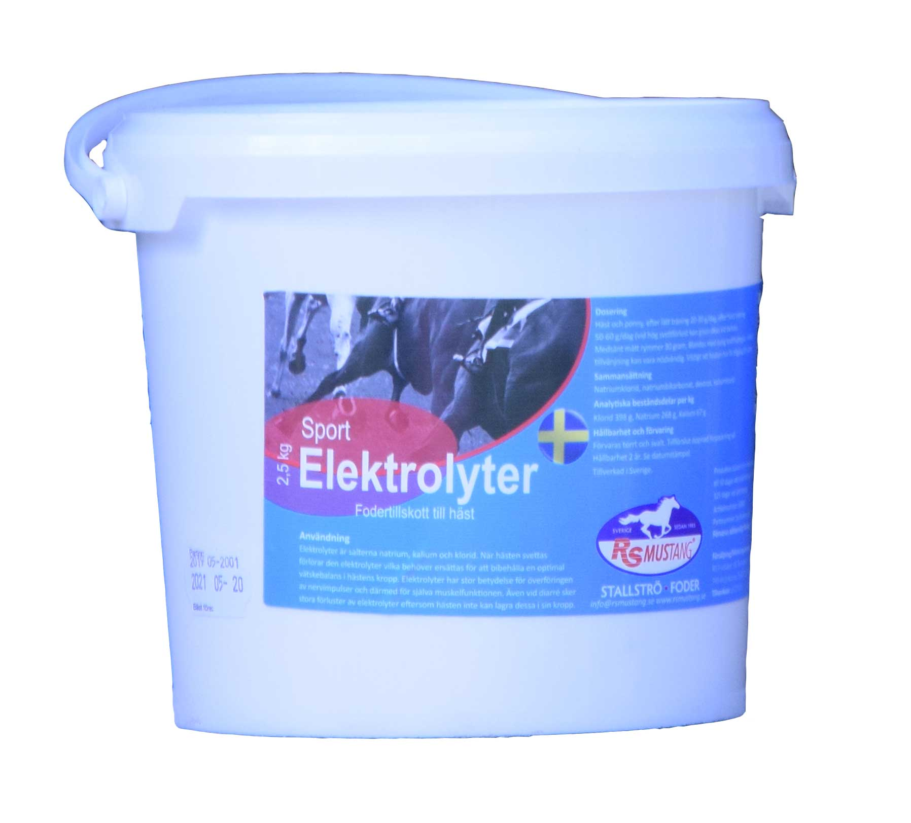 RS Mustang® Elektrolyter
